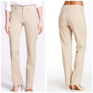 NYDJ | Hayden Stretch Twill Straight Leg Pants